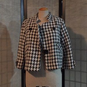 Reef black white jacket